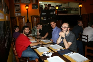 OSS4B - Dinner at Wallace