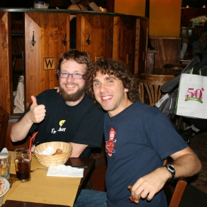 OSS4B - Dinner at Wallace: Gabriele and Frederic